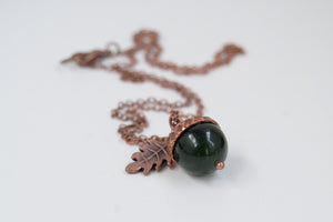 acorn necklace