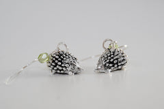 Teeny Tiny Hedgehog Earrings