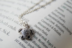 Tiny Sea Turtle Necklace