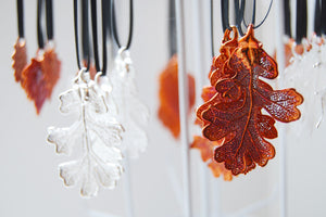 Real Oak Leaf Ornament