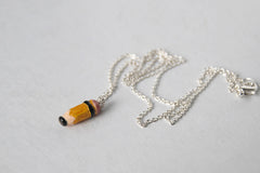 Teeny Tiny Pencil Necklace
