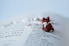 Swift Red Fox Necklace
