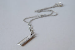 Tiny Ruler Necklace