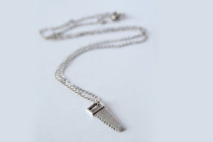 Mini Hand Saw Necklace