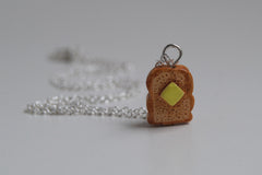 Tiny Toast Necklace