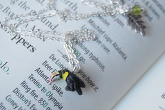 Tiny Toucan Necklace