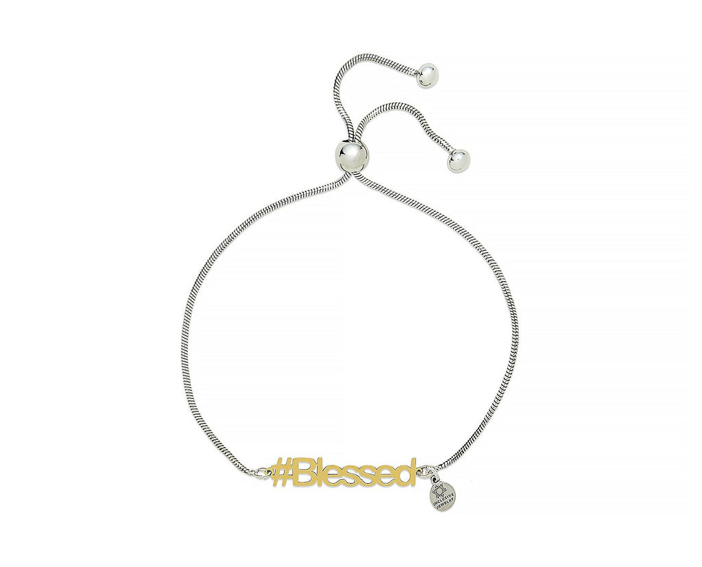 Blessed Hashtag Bracelet - InclusiveJewelry
