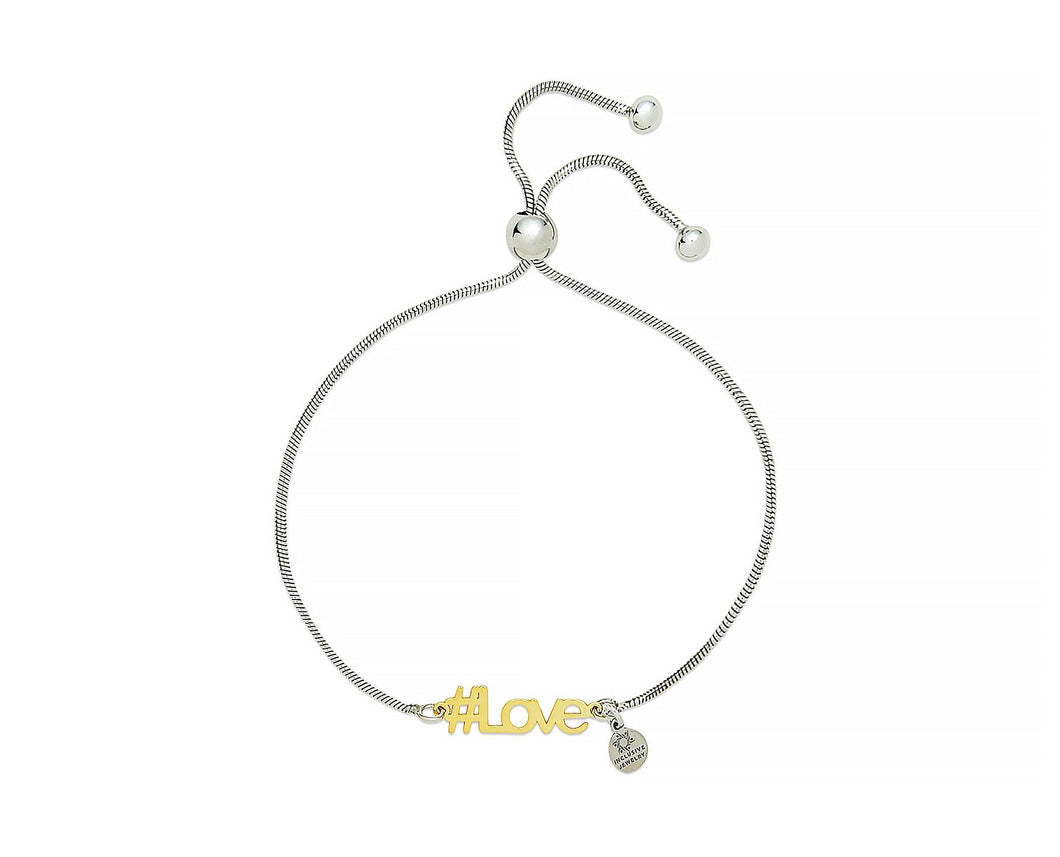 Love Hashtag Bracelet - InclusiveJewelry