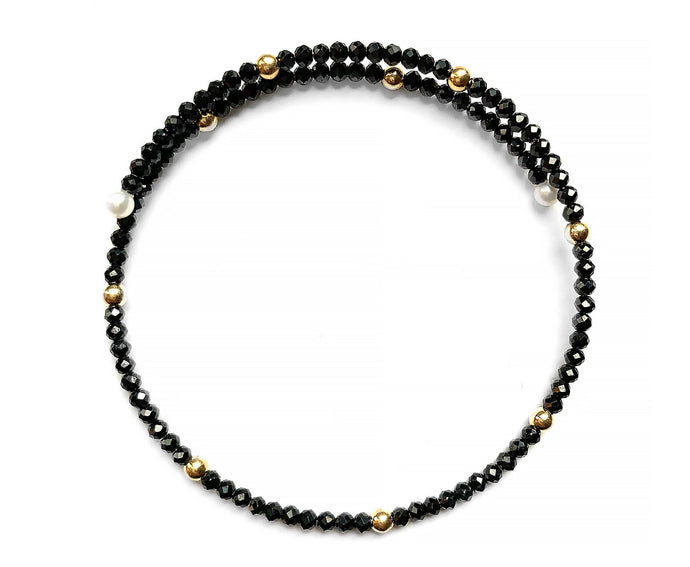Black Spinel Bracelet - InclusiveJewelry