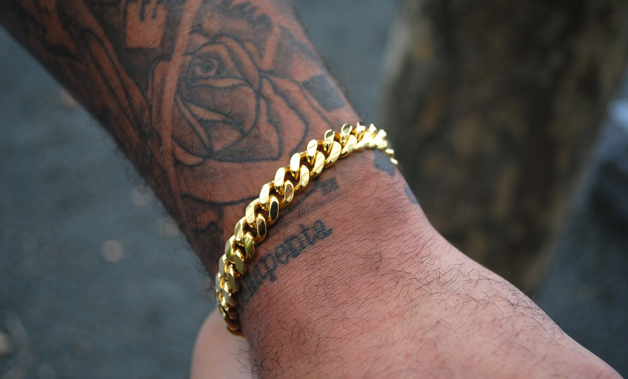 Men's Cuban Bracelet - InclusiveJewelry