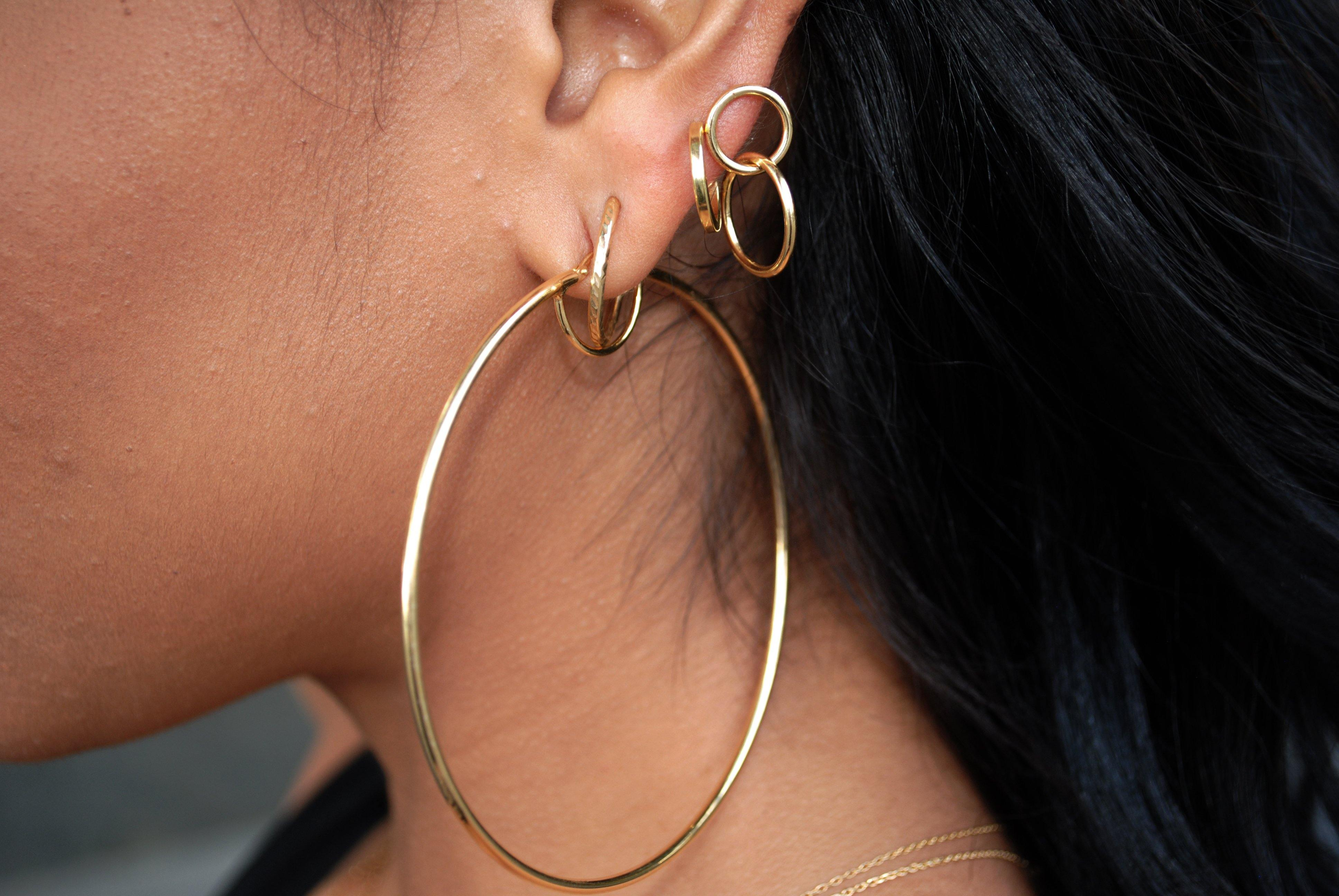 Infinite Hoop Earrings - InclusiveJewelry