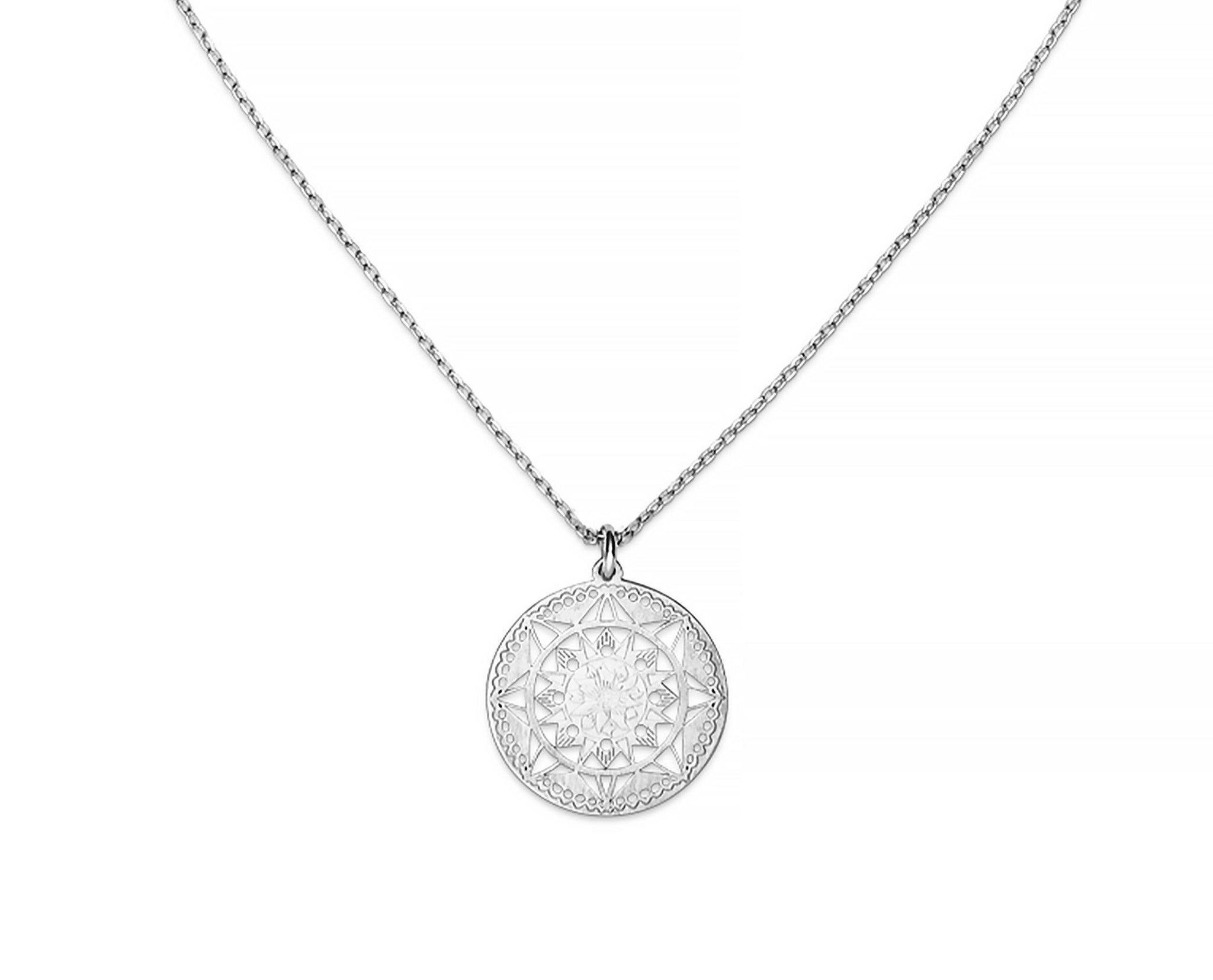 Lotus Mandala Necklace - InclusiveJewelry