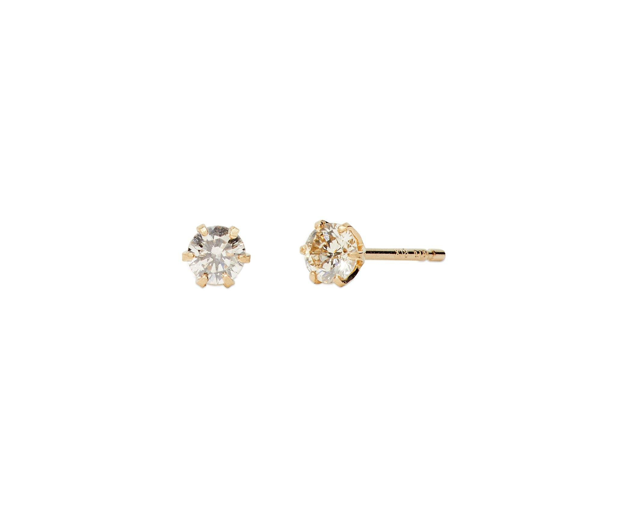 Diamond Circle Studs - InclusiveJewelry