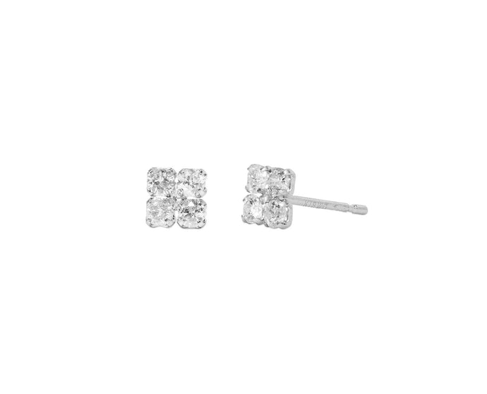 Diamond Shaped Studs - InclusiveJewelry