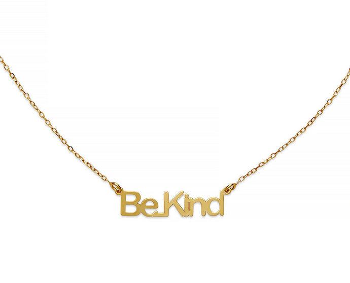 Be Kind Necklace - InclusiveJewelry