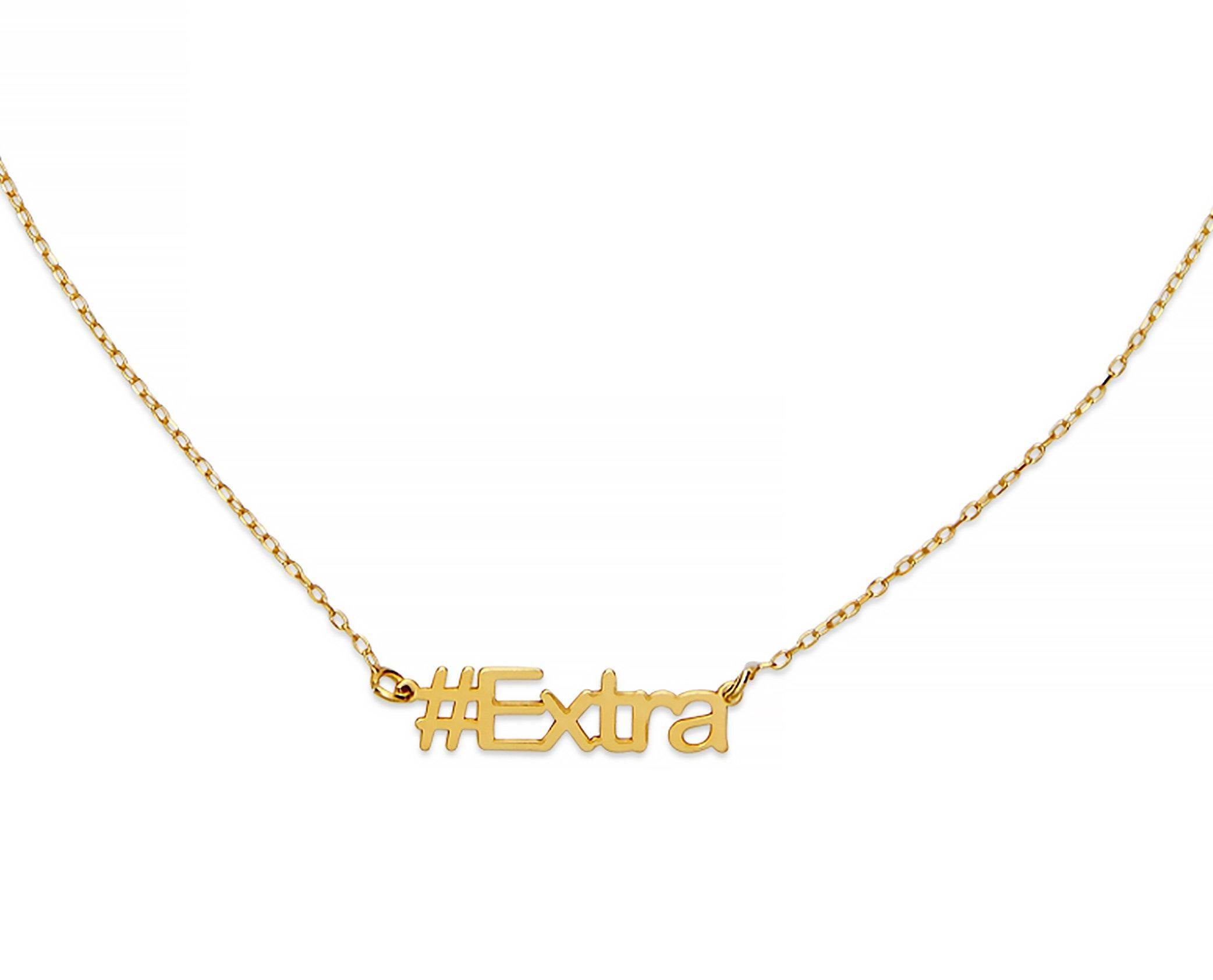 Extra Hashtag Necklace - InclusiveJewelry