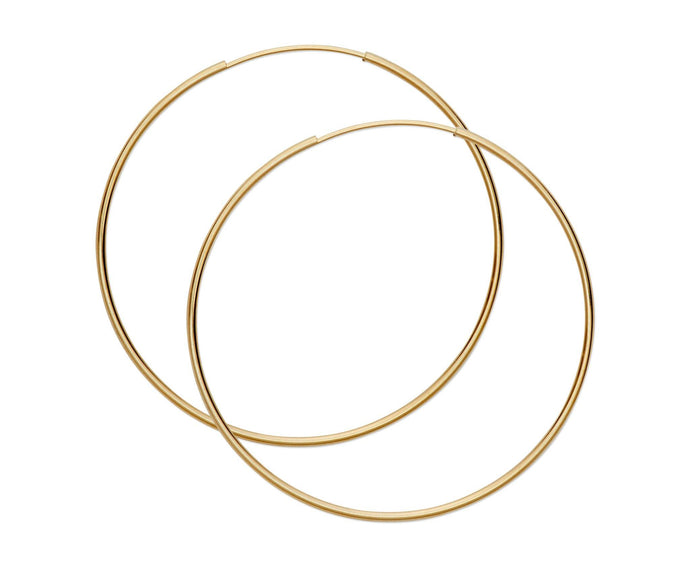 Large Thin Hoops - InclusiveJewelry