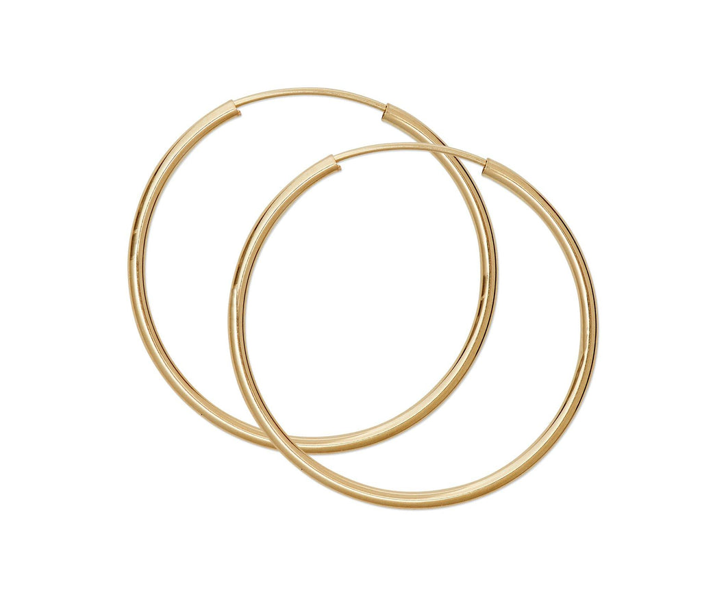 Medium Thin Hoops - InclusiveJewelry