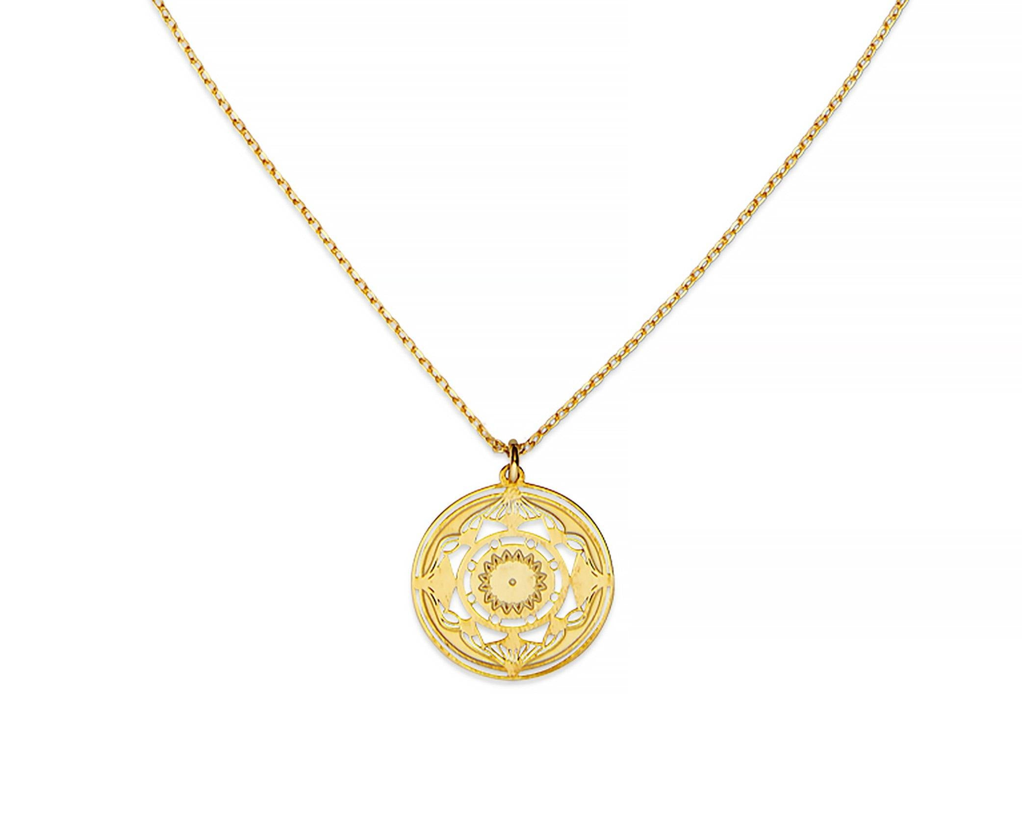 Helios Mandala Necklace - InclusiveJewelry