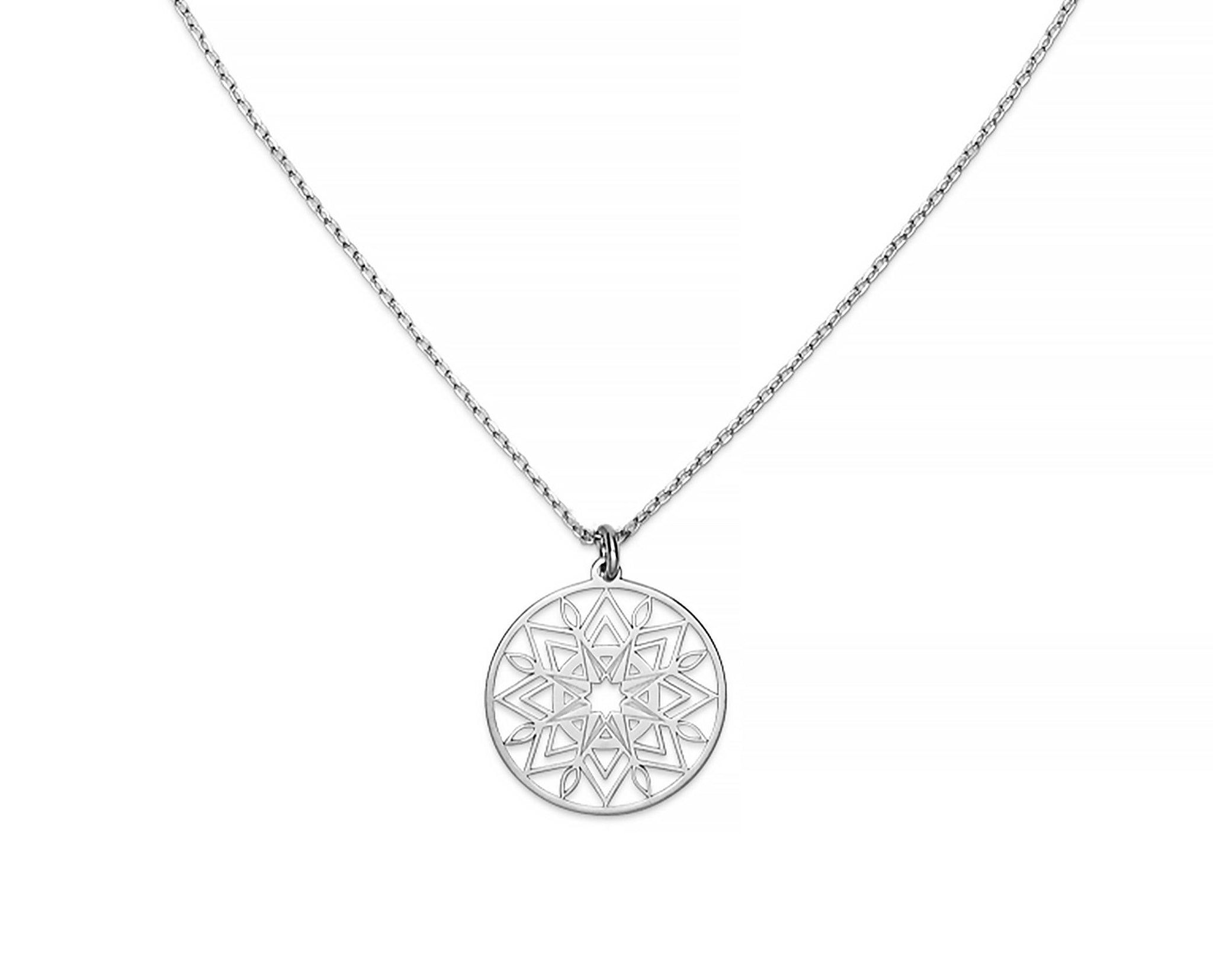 Polaris Mandala Necklace - InclusiveJewelry