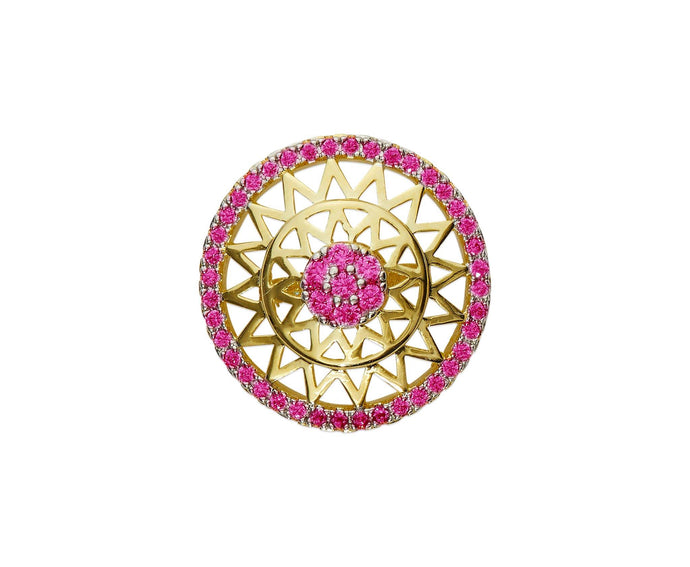 Circle Lapel Pin - InclusiveJewelry