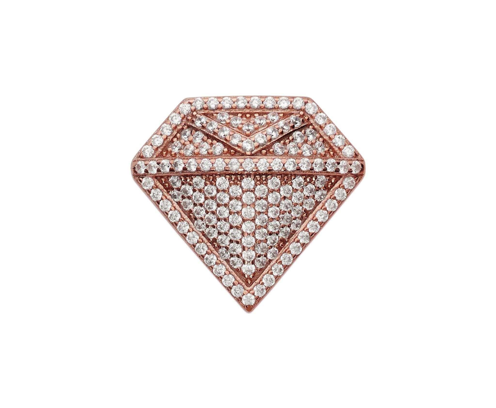 Diamond Lapel Pin - InclusiveJewelry