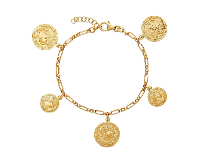 Roman Coin Bracelet - InclusiveJewelry