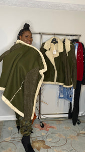 Cozy Olive Green Jacket