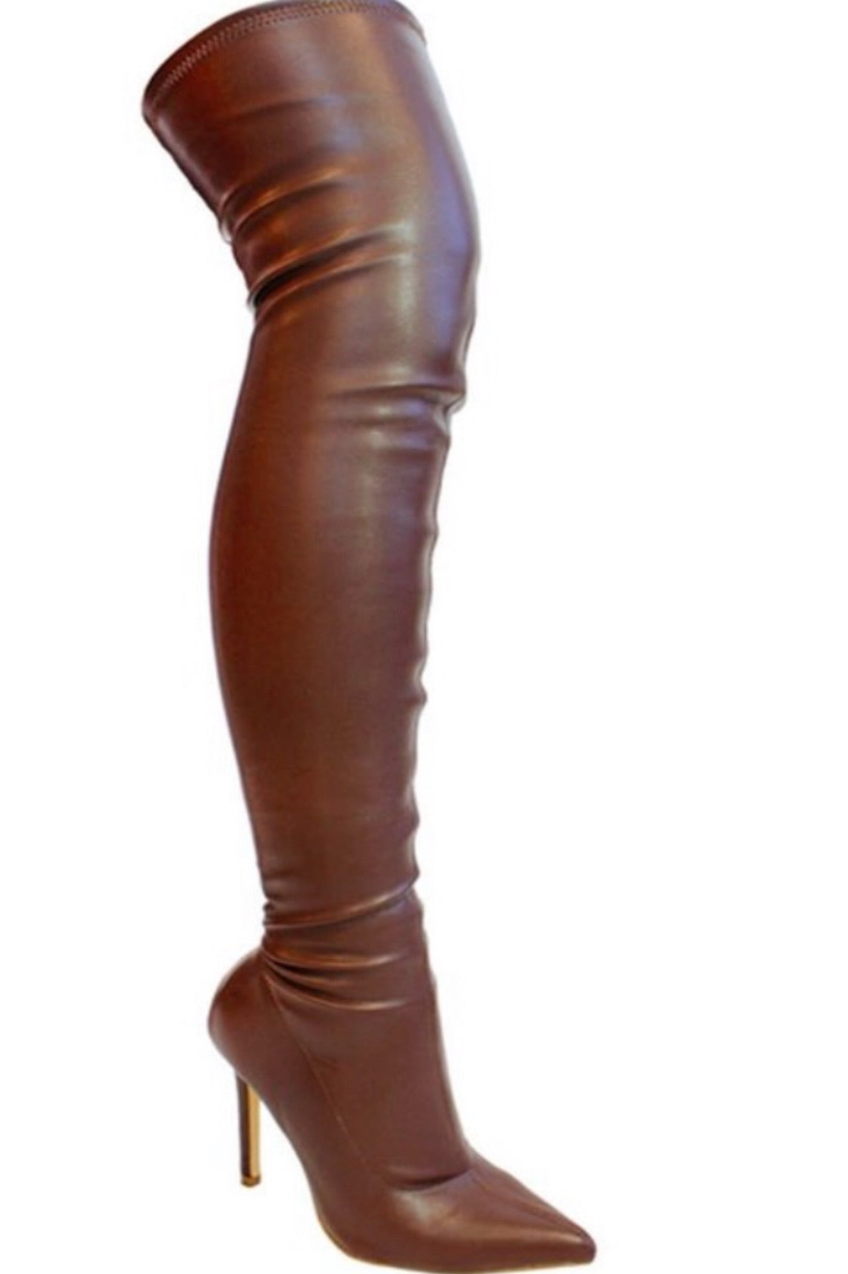Giselle Thigh High Boot~Brown