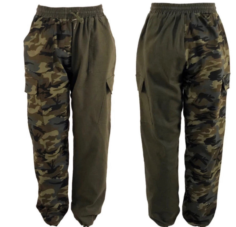 Camouflage Love Cargo pants ( XL Shown)