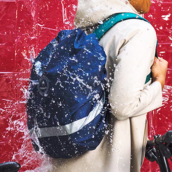 Raincover : protect your backpacks 100% recycled