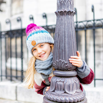 snoods and scarve for girls and boys