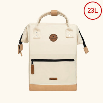 cream backpacks medium