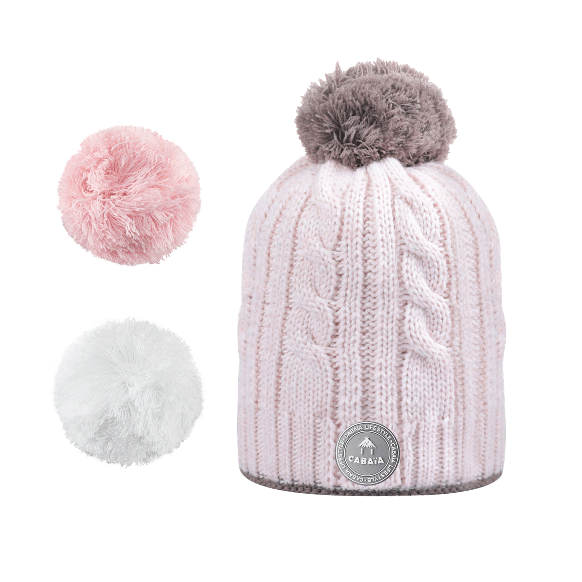 Hat Creamy Gin Light Pink Polar, Cabaïa