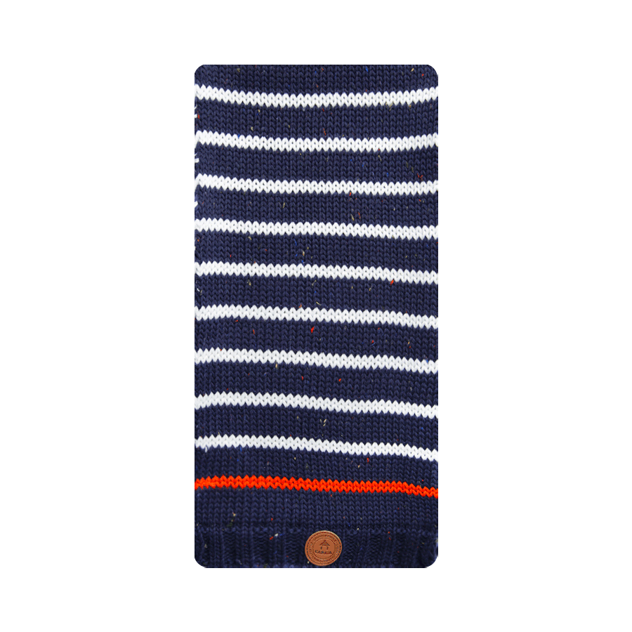 Scarf Red Lion Navy