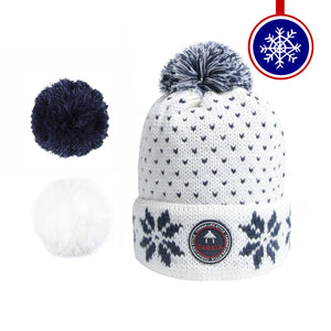 bonnet cabaia pompon français homme femme made in france