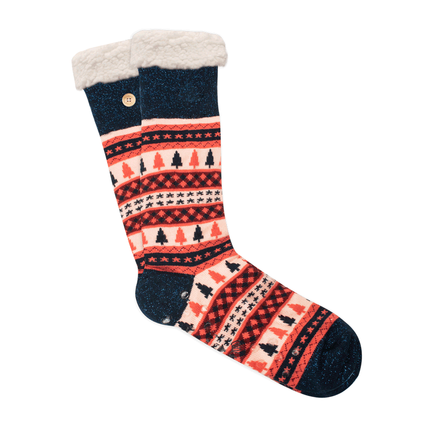 NEW - Coline enneigée - stuffed socks - Red