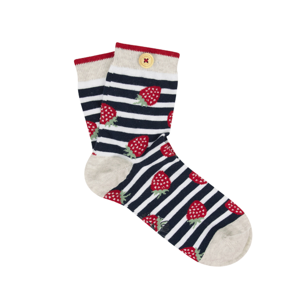 Load image into Gallery viewer, unloosable-socks-button-women-36-41-socks20-vict-gre