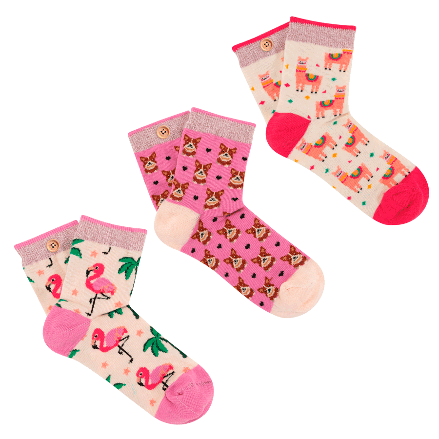 NEU - Magic World - 3 Socken