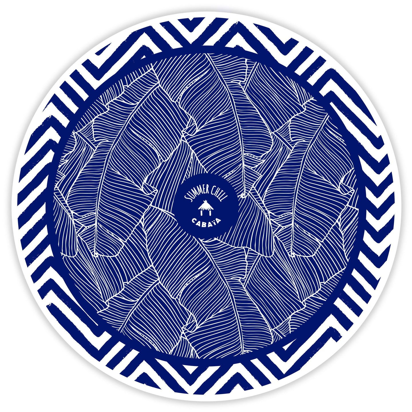 Round towel - Koh Phi Phi Ley