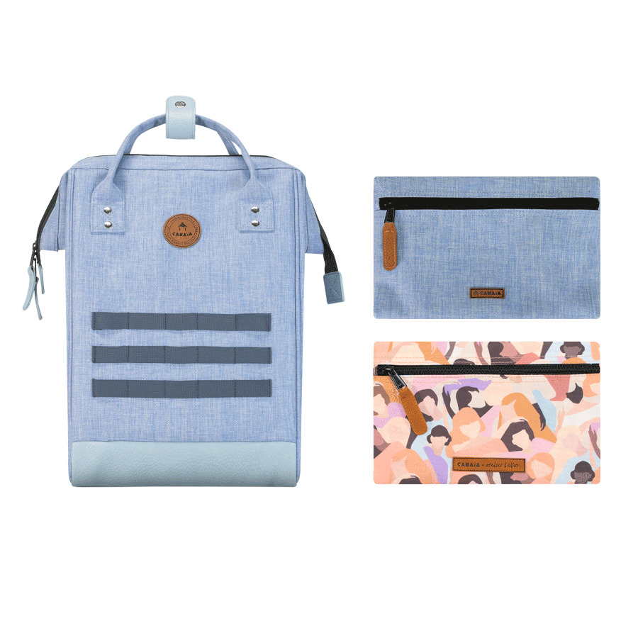 La canopée - Backpack - Medium - pocket designer