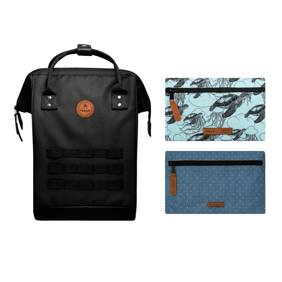 The Endless Sea - Backpack - Medium - Pocket designer