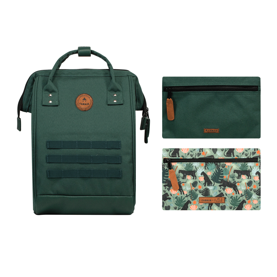 Jungle Boogie - Backpack - Medium - pocket designer