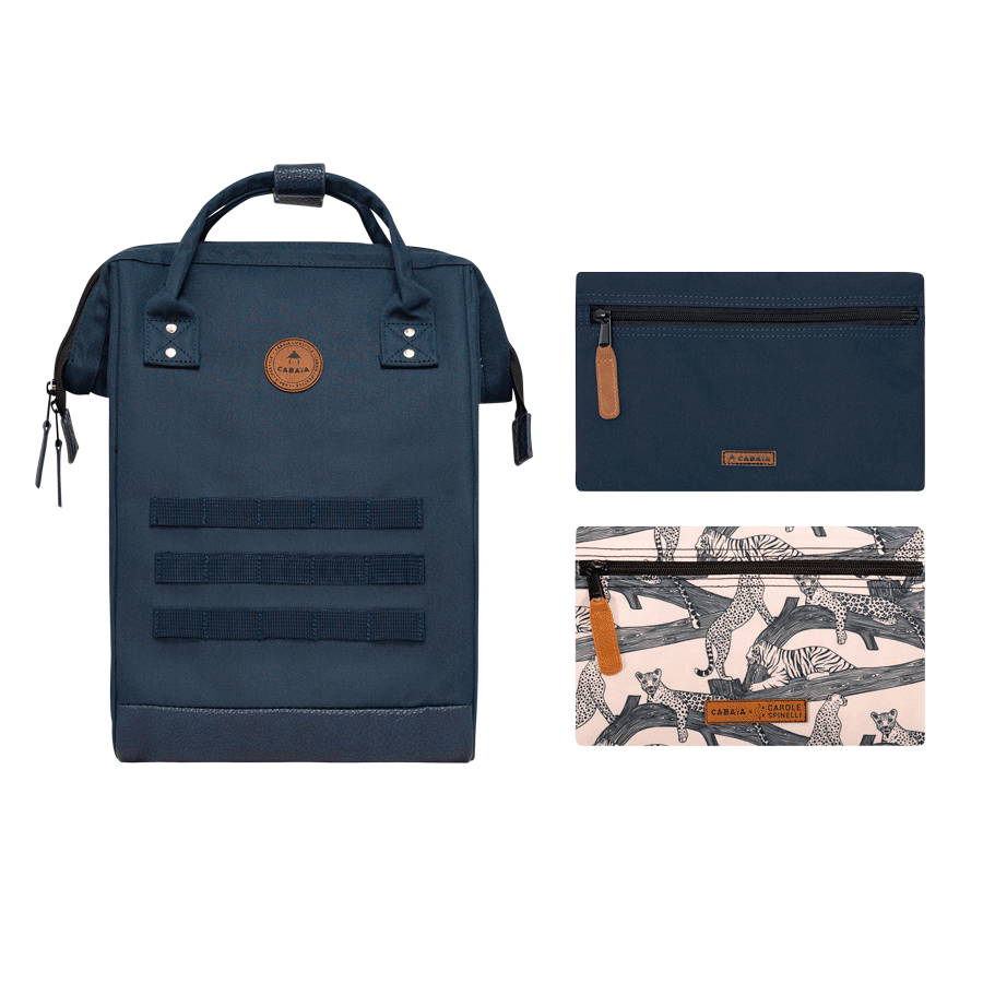 Eye of the Tiger - Backpack - Medium - pocket designer