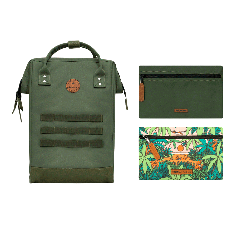 Paradise - Backpack - Medium - pocket designer
