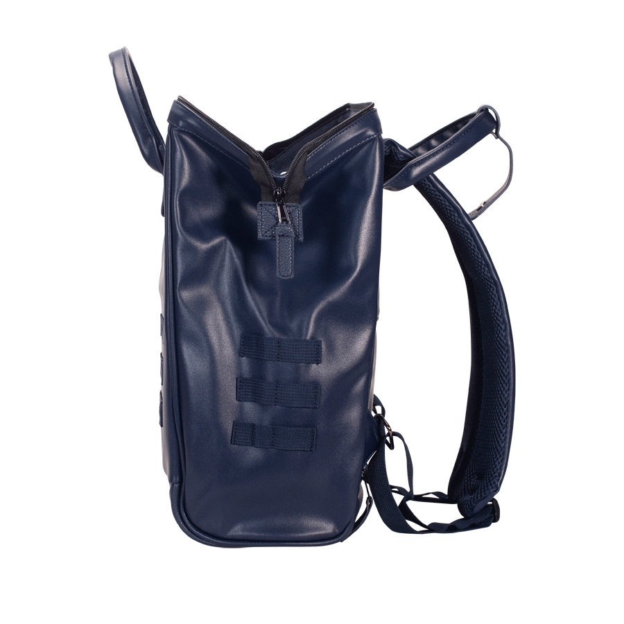 Navy backpack Cabaïa Milan with his large wide opening