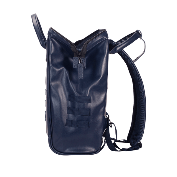 Load image into Gallery viewer, Navy backpack Cabaïa Milan with his large wide opening