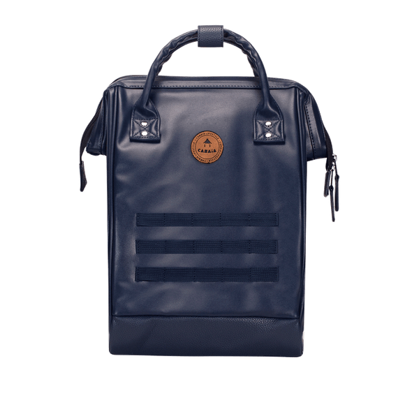 Load image into Gallery viewer, Navy backpack Cabaïa without his pocket