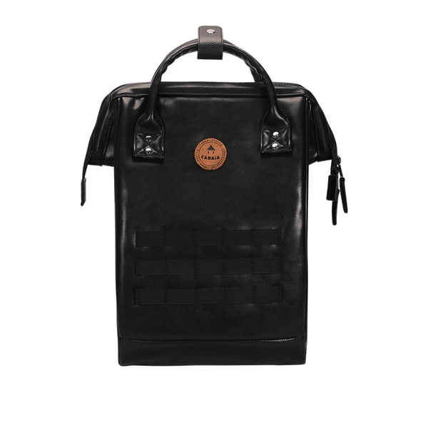 Load image into Gallery viewer, Black backpack Cabaïa Tokyo without pockets