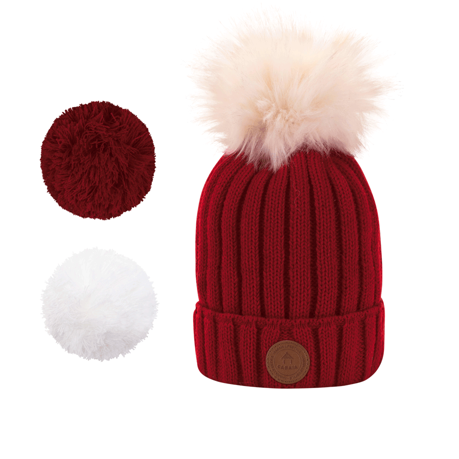 Mütze Kir Royal Burgundy  Polar, Cabaïa